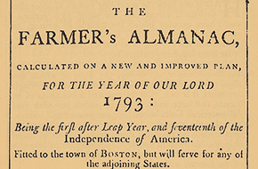 Climate in Words and Numbers: How Early Americans Recorded the Weather in Almanacs