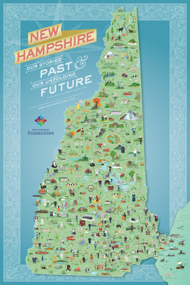 NH Humanities Map
