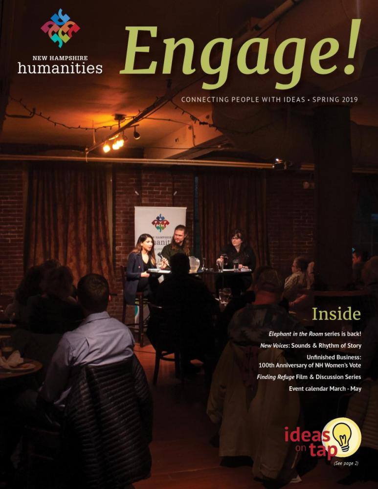 March 2019 Engage cover